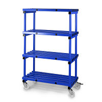plastic clean room shelving