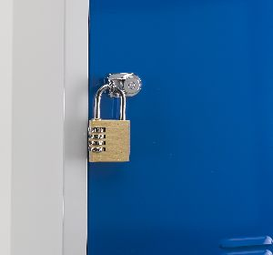 Atlas lockers hasp lock